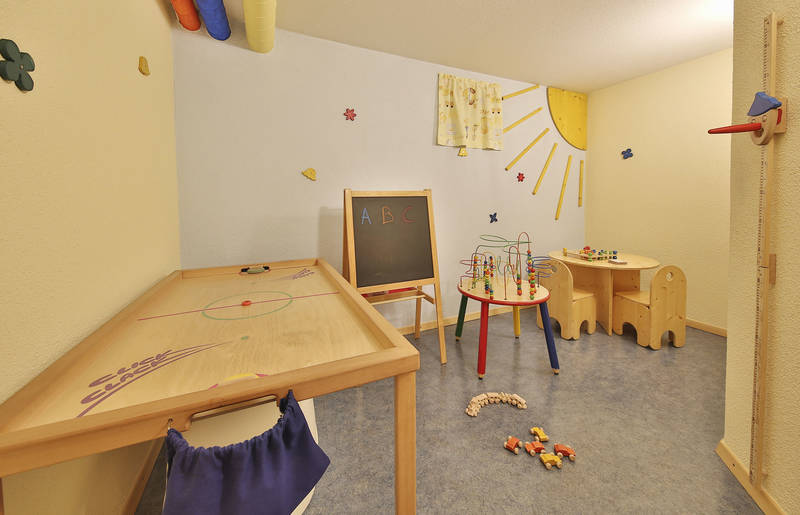 Kinderspielzimmer im Appartements Pamela in Serfaus